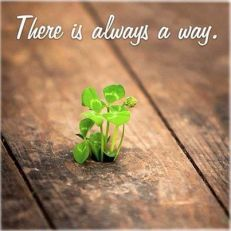 there always a way