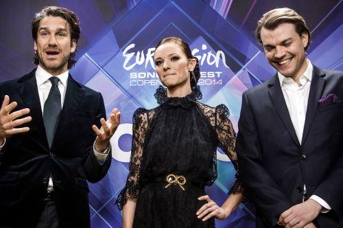 Eurovisie 2014 - magere presentatrice