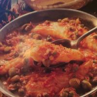 Caloriearm Diner Recept - Kabeljauw in Paprika Tomatensaus
