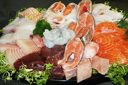 vissoorten mager, half vet en vet