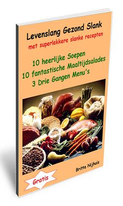 gratis e-book met super lekkere slanke recepten