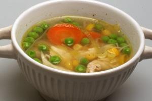 groentesoep met mais