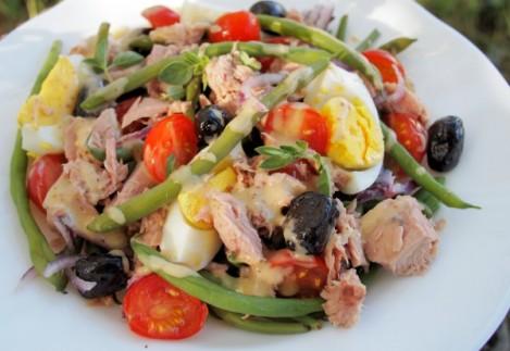 Salade Nicoise met tonijn