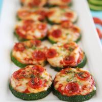 Gezonde Snack - Courgette Minipizza