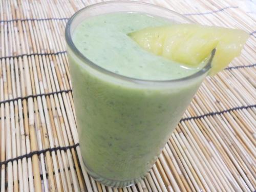 goede morgen groene smoothie