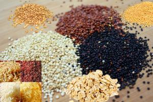 gezonde granen en zaden