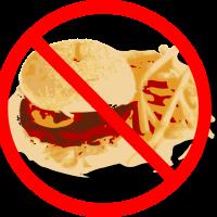 Verboden om te eten
